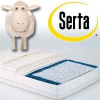 正規品 SERTA(サータ) ポスチャーパーフェクトスリーパー(片面ピローソフトタイプ)セミダブル 幅122×長さ196×厚さ34cm【送料無料】