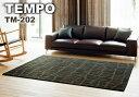 ラグ カーペット ラグマット 北欧 シャギーラグ rug モダン 【スミノエ製】 TEMPOシリーズ TM-202 140cm×200cm
