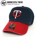47BRAND/フォーティセブン ブランド TWINS 47 CLEAN UP CAP クリーンナップ キャップ 帽子 NAVY