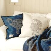 クッションカバー 50×50 フィンランド Barker Textile バーカーテキスタイル CURRY LAMBS