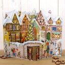 ドイツ R.Sellmer Verlag社 クリスマス アドベントカレンダー 3D‐雪の積もったお家
