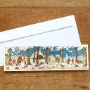 ドイツ R.Sellmer Verlag社 クリスマス アドベントカード‐ノームのクリスマス準備[メール便対象品]