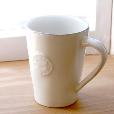 ポルトガル COSTA NOVA(コスタ ノバ) ノバ マグカップ‐ホワイト