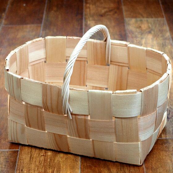 モミの木 バスケット LL フィンランド製