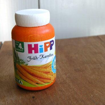 Erziエリツィ木製ままごと家事おもちゃHIPP離乳食ビン入り