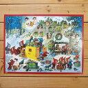 ドイツ製 クリスマス アドベントカレンダー L ノームの郵便局 【かわいい 飾り カレンダー サンタ インテリア】