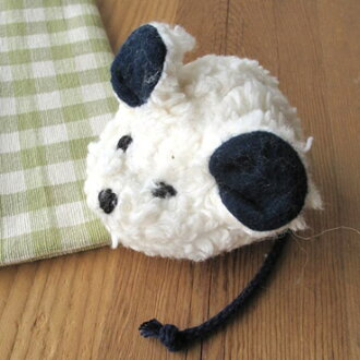 德國 Plu 自然 purnatulle 有機棉毛絨-迷你滑鼠