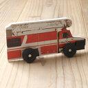 イギリス DK出版 車輪付き絵本ウィーリー-消防車
