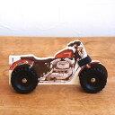 イギリス DK出版 車輪付き絵本ウィーリー-バイク