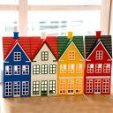 デンマーク製 貯金箱 ハウス