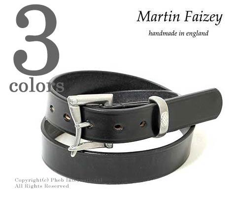 [送料無料]マーティンフェイジー/MARTIN FAIZEY 英国製 ''1.25inch BRIDLE''クイックリリースレザーベルト(125-QUICKRELEASE-BRIDLE)