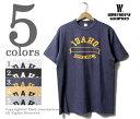 ご予約商品(お届け予定 未定) ウエアハウス/WAREHOUSE 日本製 ''IDAHO'' プリントTシャツ (WH4601-IDAHO)