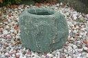【送料無料】伊予石を使った水鉢【5】坪庭やお庭のアクセントにいかがでしょうか^^ 筧などと組み合わせてお使い頂くとより一層引き立ちます☆