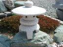 【送料無料】古代雪見(1尺・サビ色・丸型)日本庭園の定番商品!!こちらのサイズは坪庭や玄関まわりなどにピッタリです♪