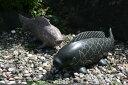 【送料無料】枯山水セット(鯉2匹)玉砂利とピッタリ^^日本庭園をより演出してくれます♪