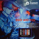 【あす楽】【リキッドとACアダプター付 】Joyetech eGo AIO D22 電子タバコ セット 電子たばこ スターターキット VAPE