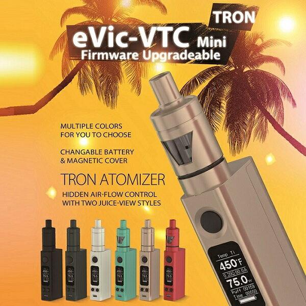 電子タバコ セット 電子たばこ VAPE 【電池付き】 Joyetech eVic-VTC Miniwith TRON 10P18Jun16
