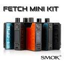 【あす楽 】【送料無料】SMOK FETCH MINI kit[スモック フェッチミニキット] GLASS VERSION POD型電子たばこ 電子タバコ セット