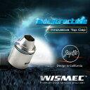 【WISMEC】 Indestructible インディストラクティブル RDA 電子タバコ アトマイザー VAPE 05P05Nov16