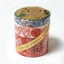 A Story Masking Tape マスキングテープ3巻セット[valentine's day]【宅配便のみ】