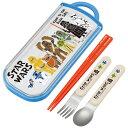 スターウォーズ 箸 / 食洗機対応スライド式トリオセット スターウォーズ ペーパーカット /P20Feb16