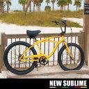 【送料無料】ビーチクルーザー 24インチ 自転車 西海岸 BMX シモチャリ にじいろジーンローチャリ ローライダーカリフォルニアンバイク [SP]【送料無料】