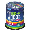 三菱化学メディア バーベイタム 6倍速対応BD-R 100枚パック 25GB ホワイトプリンタブル