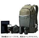 【国内正規品】Lowepro カメラリュック フリップサイドトレックBP 450AW 12.9L グレー/ダークグリーン