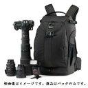 【国内正規品】Lowepro カメラリュック フリップサイド 500 AW 25L レインカバー 三脚取付可 ブラック