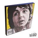 【全品☆ポイント2倍☆☆】Paul McCartney ポール・マッカートニー インテリアアートパネル [ビートルズ Beatles][20世紀の偉大な音楽家] お洒落にお部屋を彩るウォールアートパネル【音楽ミュージック・レジェンド・スター グッズ・雑貨】