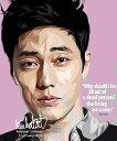 So Ji Sub ソ・ジソプ インテリアグラフィックボード [韓国ドラマ人気俳優] お洒落にお部屋