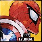 【全品☆ポイント2倍☆☆】Spider man in civil war  スパイダーマン(シビル・ウォー) インテリアアートパネル [Marvel マーベル インフィニティ・ウォー アベンジャーズ] アートパネル【映画・キャラクター・スター グッズ・雑貨】