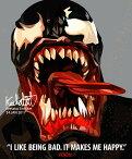 Venom ヴェノム [スパイダーマン・MARVEL マーベル インフィニティ・ウォー関連] お洒落にお部屋を彩るウォールアートパネル【映画・キャラクター・スター グッズ・雑貨】