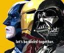 【ポイント2倍☆】BATMAN&IRONMAN&Darth Vader バットマン&アイアンマン&ダースベイダー 洋画 DCコミック マーベル STAR WARS お洒落にお部屋を彩るウォールアートパネル【映画 キャラクター スター グッズ 雑貨】