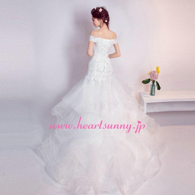 ウェディングドレス マーメイド☆E278☆セク...の紹介画像3