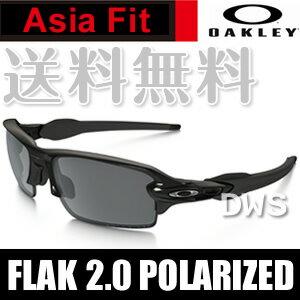【オークリー サングラス】オークリー フラック 2.0 (Asia Fit) OO9271-07 polished black★black iridium polarized 【送料無料】【代引料無料】 (A)OAKLEY Flak 2.0 Polarized (Asia Fit)