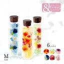 【送料無料】※北海道 沖縄 離島を除く Herba ハーバリウム ボトルフラワー ギフト アレンジメント 【ハーバリウム ウッドキャップ M】プレゼント 花 フラワーボックスのようなフラワーボトル