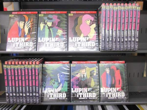 (日焼け)ルパン三世 THE SECOND TV 1〜26 (全26枚)(全巻セットDVD)/中古DVD[アニメ/特撮DVD]【中古】(AN-SH201506)(AN-SH201510)(AN-SH201606)