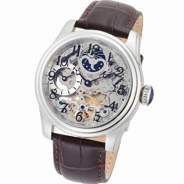 取寄品 正規品ARCA FUTURA自動巻き腕時計 アルカフトゥーラ 965ABR Mechanical Skeleton メンズ腕時計 auktn 送料無料 保証付き メンズ腕時計Men'sうでどけいブランドランキング