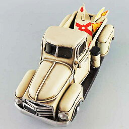 ブリキのおもちゃ ピックアップトラック (アイボリー) 27460