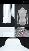 【SelectShop】【TSオックスフォードシャツ】メンズシャツスーツシャツカジュアルシャツコットンシャツホワイトオックスフォードオックスフォードシャツオックスフォードコットンシャツお兄系