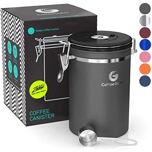 Coffee Gatorコーヒーキャニスター CAN-LRG-SS-UK