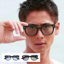 サングラス メンズ 眼鏡 メガネ めがね アイウェア フレーム UVカット 紫外線 ケース付き アクセ 小物 メンズファッション