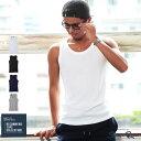 タンクトップ メンズ タンク メンズ ノースリーブ テレコ素材 メンズ 男性用 インナー トッ