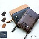財布 メンズ 二つ折り財布 サイフ 小銭入れ ウォレット カードケース パスケース PUレザー ギフト 男性用 メンズファッション