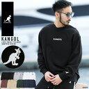 ◆KANGOL (カンゴール) 裏毛クルーネックトレーナー◆カンゴール トレーナー メンズ スウェット メンズ kangol カンゴール トップス カジュアル メンズファッション