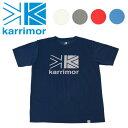【期間限定エントリーでP10倍!9月24日01:59迄】Karrimor カリマー logo T vol1 ロゴ T vol1 【Tシャツ/トップス/アウトドア】【メール便・代引不可】