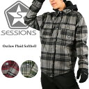 2015 SESSIONS セッションズ スノーボードウェア Outlaw Plaid Softhell Men's