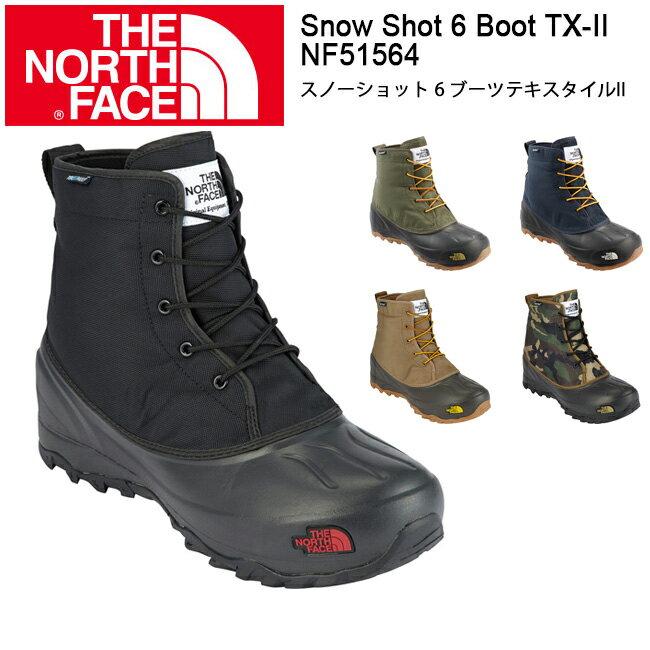 ザ・ノース・フェイス ブーツ スノーショット 6 ブーツテキスタイルII ユニセックス