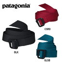 【スマホエントリー全品10倍】パタゴニア Patagonia ベルト Patagonia Friction Belt フリクション・ベルト 59177/日本正規品/【メール便・代引不可】